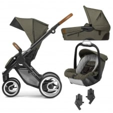 Evo Industrial 3in1 + Safe2Go - Black Chassis - Olive