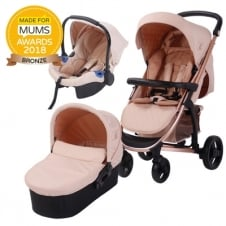 Billie Faiers MB200+ Rose Gold Travel System