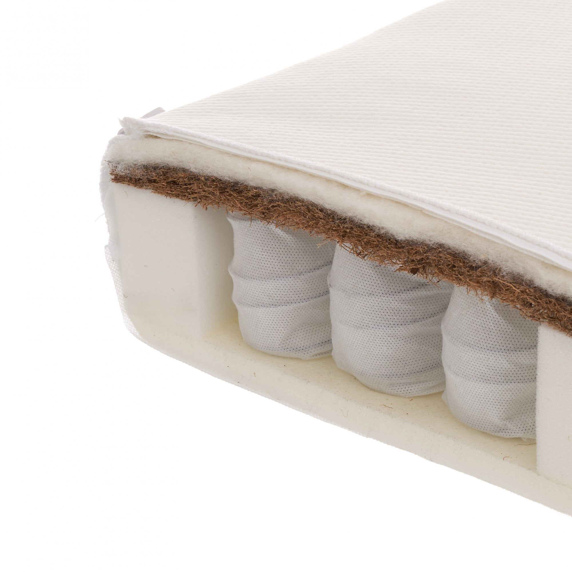 Obaby 140 x 70cm Pocket Sprung Cot Bed Mattress