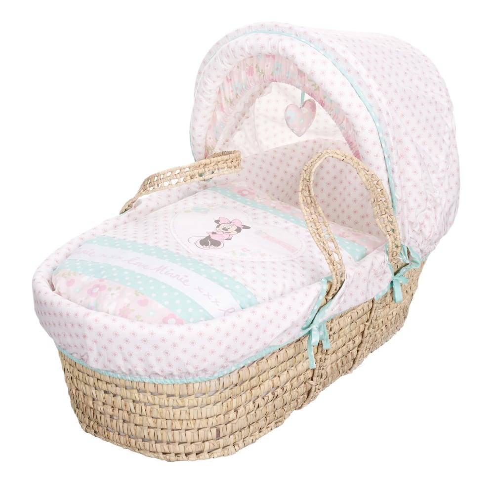 Obaby Disney Minnie Mouse Moses Basket - Bedding, Nursery ...