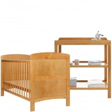 Grace 2 Piece Room Set - Country Pine