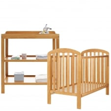 Lily 2 Piece Room Set - Country Pine