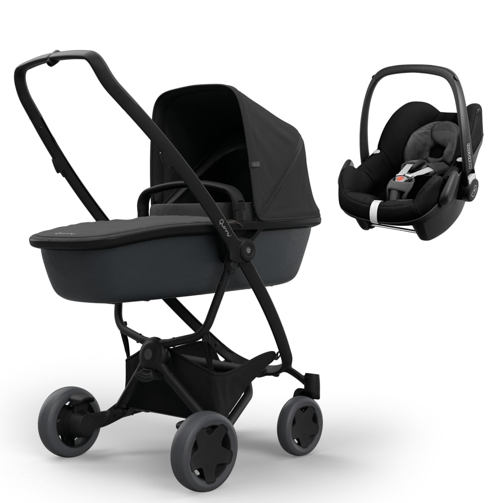 Quinny Zapp Flex Plus + Carrycot + Pebble - Prams & Pushchairs from
