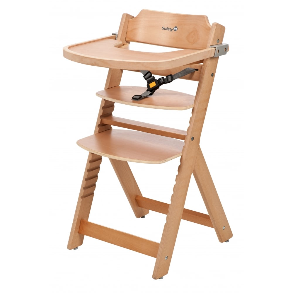 safety 1st timba wooden highchair high chairs feeding from pramcentre uk. Black Bedroom Furniture Sets. Home Design Ideas