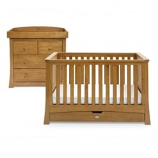 Canterbury Cot Bed & Dresser