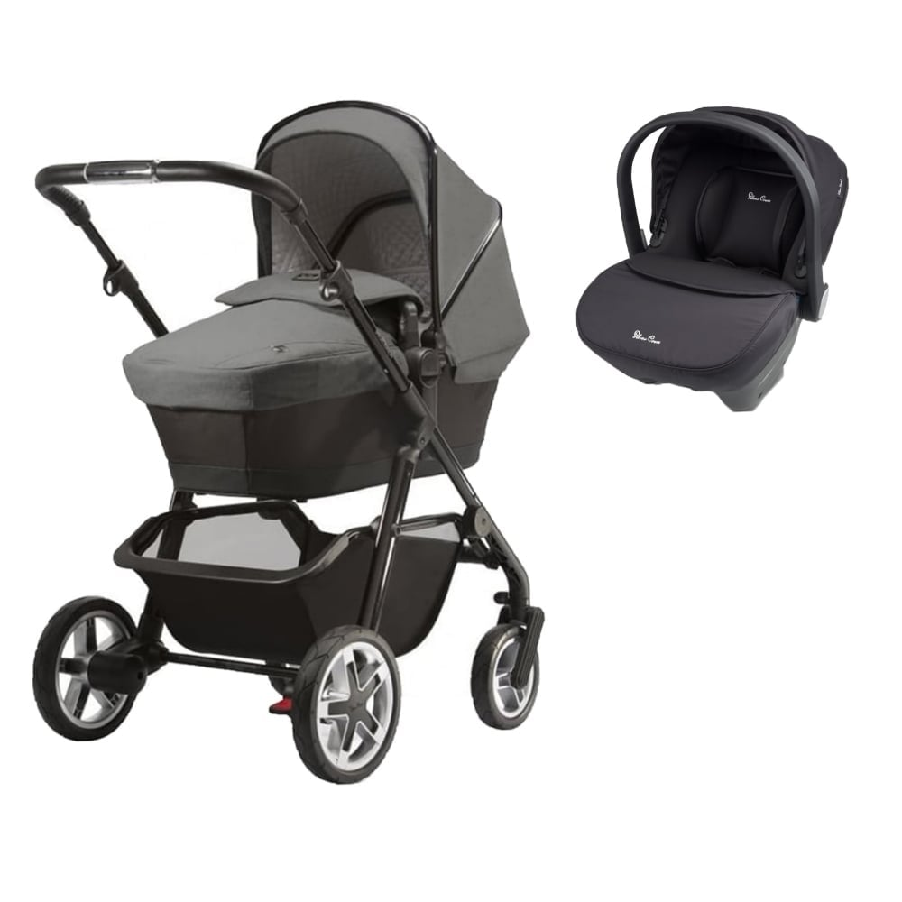 silver cross pioneer special edition eton grey free black simplicity car seat prams. Black Bedroom Furniture Sets. Home Design Ideas