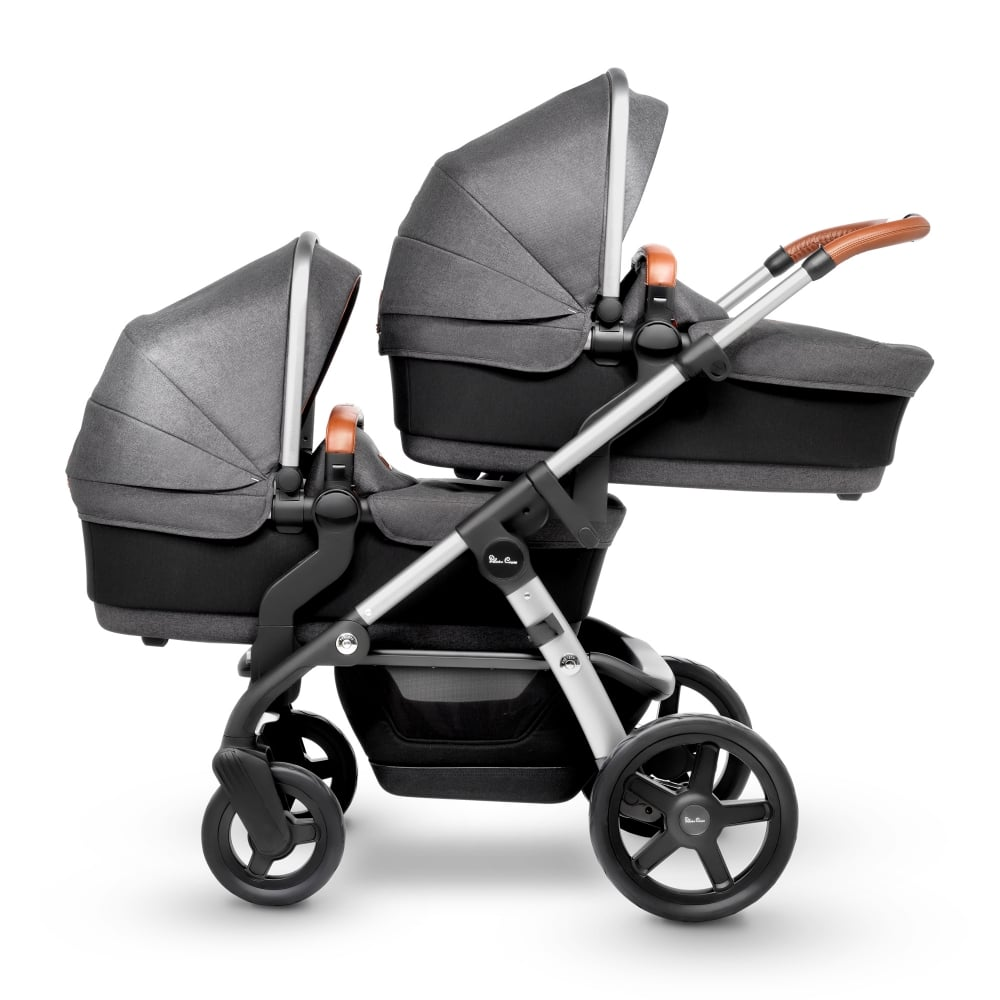Silver Cross Wave Twin Prams Amp Pushchairs From Pramcentre Uk