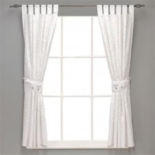 Counting Sheep Fully Lined Curtains & Tie Backs