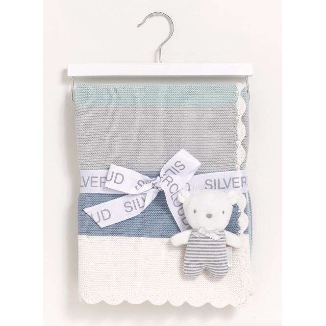 SilverCloud Made With Love Baby Bear Gift Set