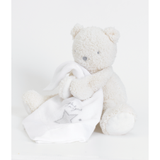 Made With Love Teddy With Muslin Comforter