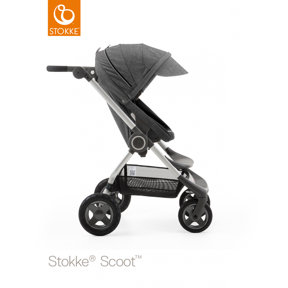 Opprinnelig Stokke® Stokke Scoot Black Melange - Prams & Pushchairs from TO-86