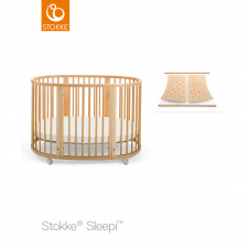 Sleepi Bed + Sleepi Junior Extension - Natural