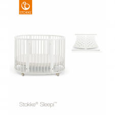 Sleepi Bed + Sleepi Junior Extension - White