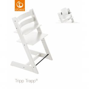 tripp trapp baby set white