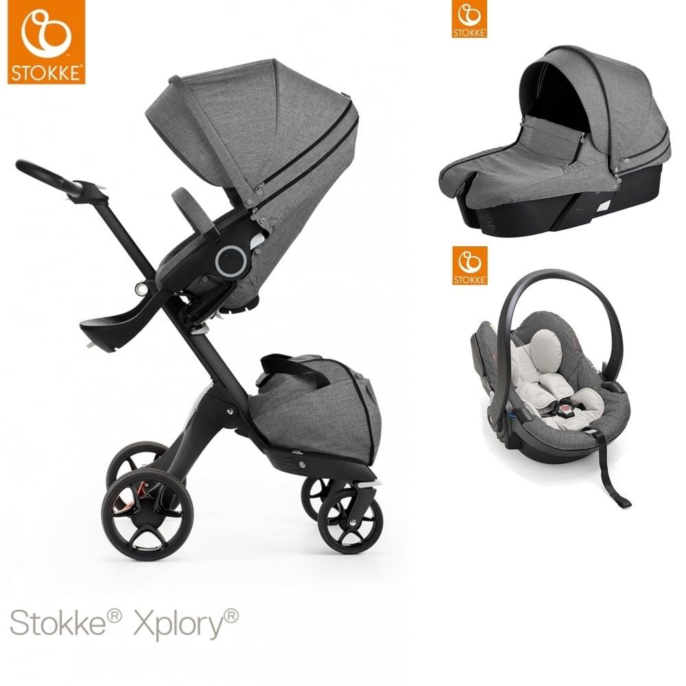 XploryR V5 Black Carrycot IZi Go Modular Car Seat