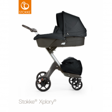 Xplory® V5 + Carrycot - Black