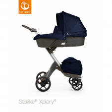 Xplory® V5 + Carrycot - Deep Blue