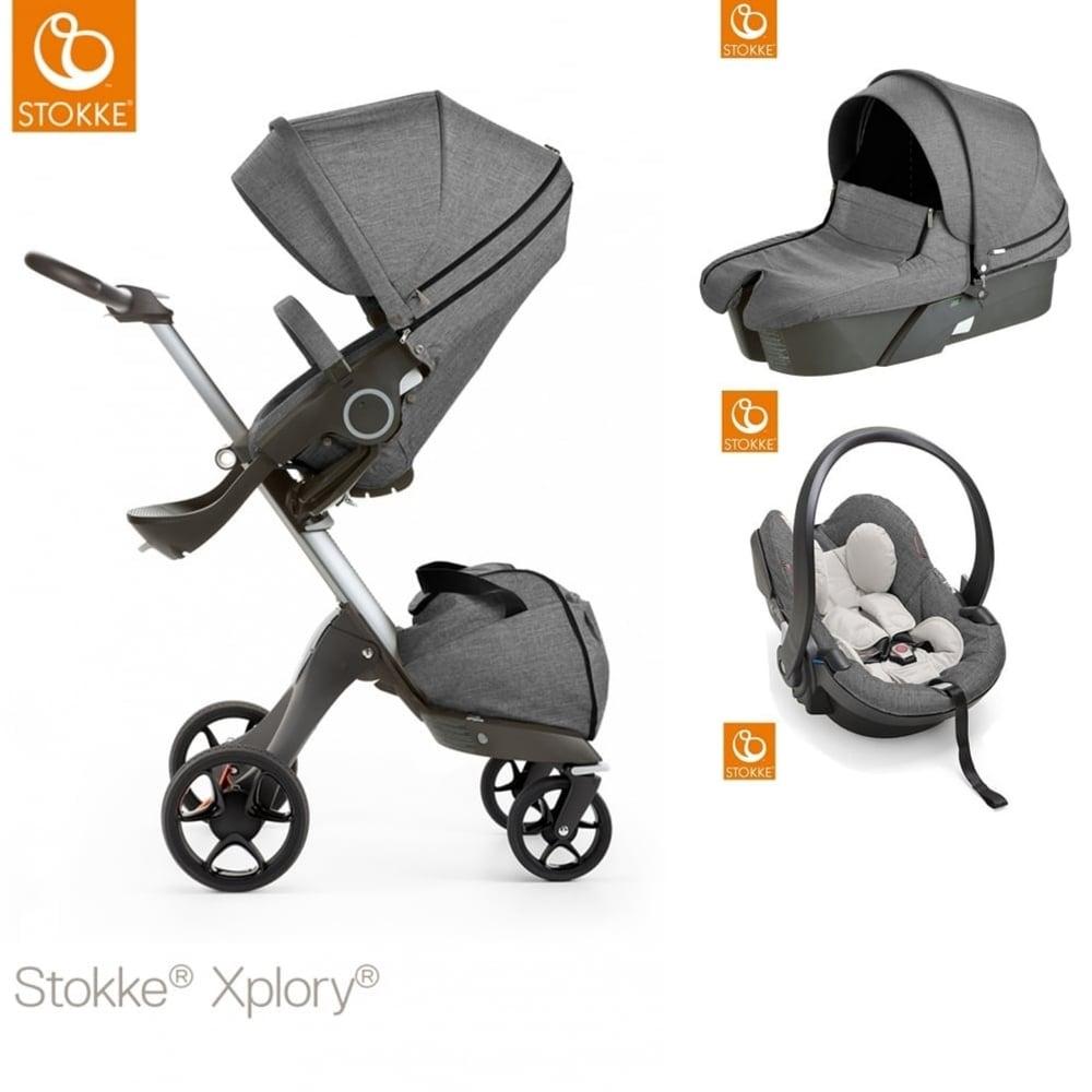 stokke xplory v5 carrycot izi go modular car seat. Black Bedroom Furniture Sets. Home Design Ideas