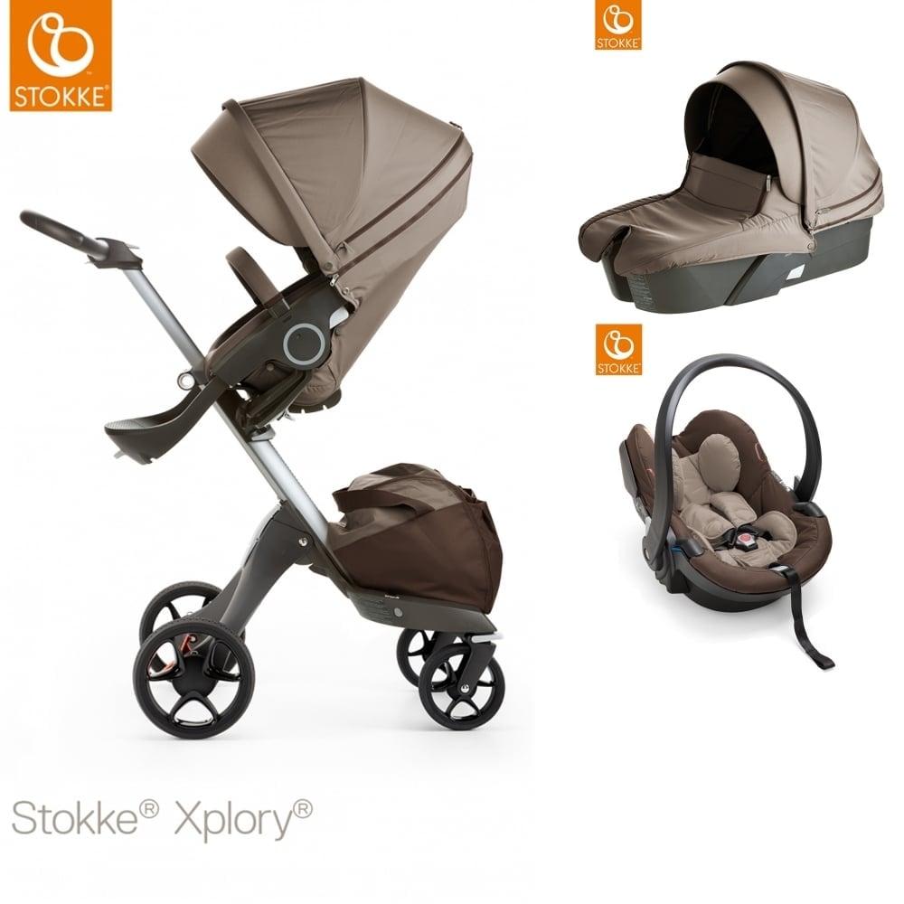 XploryR V5 Carrycot IZi Go Modular Car Seat