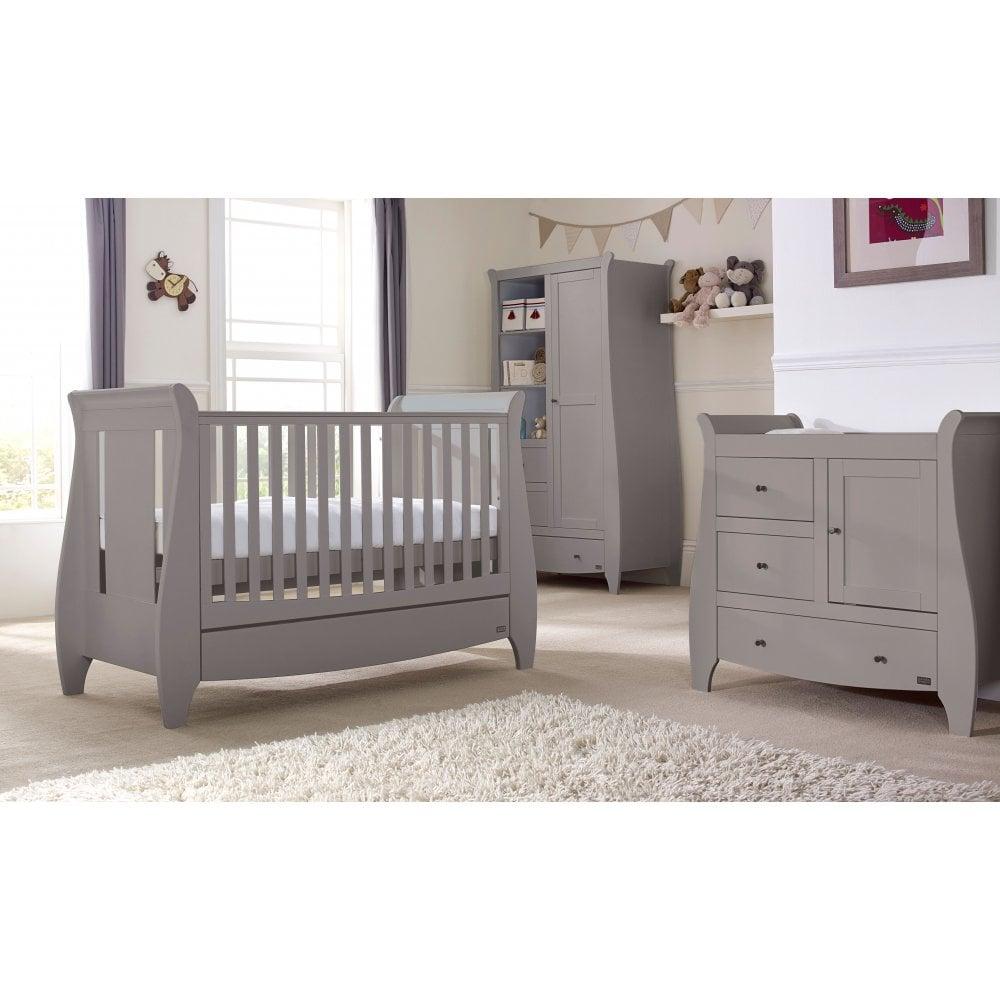 best service 3d4f2 3d3ef Tutti Bambini Lucas 5 Piece Room Set - Cool Grey