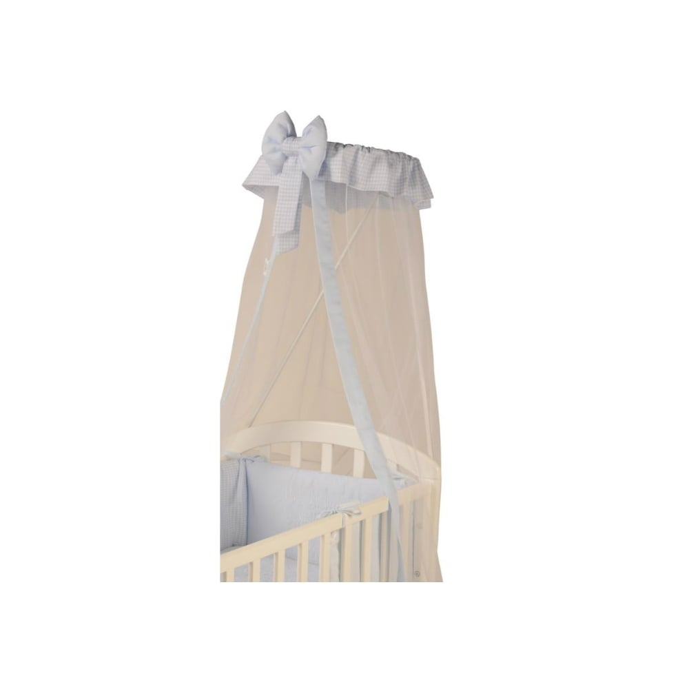 mosquito comprises itm coronet set length sides baby drapes allows cm net x stand or to your cover crown bed drape width for of cot all you large canopy heart