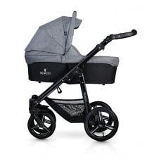 Soft 3in1 - Black Chassis / Denim Grey