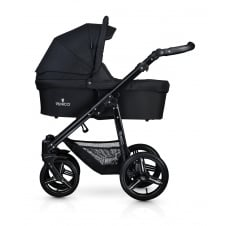 Soft Travel System - Black Chassis / Black
